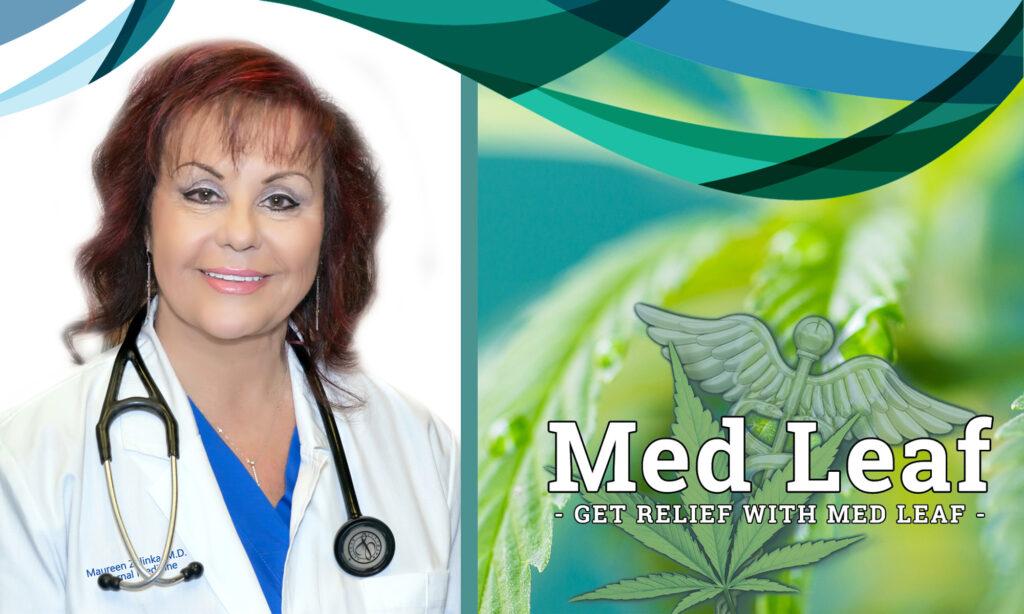Maureen Zelinka MD. PA. Med Leaf Medical Marijuana on the Treasure Coast
