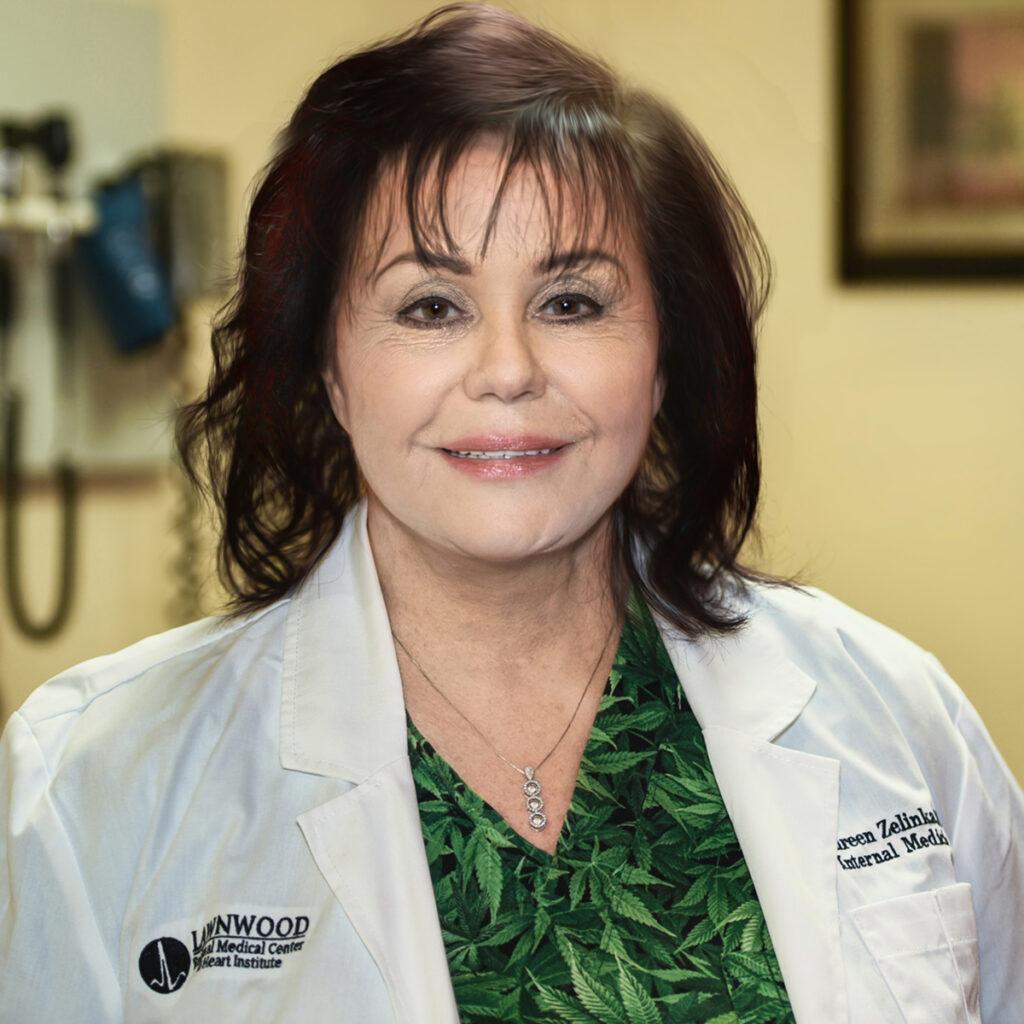 Maureen Zelinka, MD. PA Med Leaf Medical Marijuana on the Treasure Coast