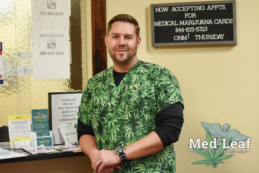 Christopher Lippman Med Leaf Medical Marijuana on the Treasure Coast
